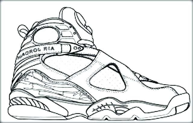 640x408 Coloring Pages Of Shoes Printable Coloring Pages Basketball Player