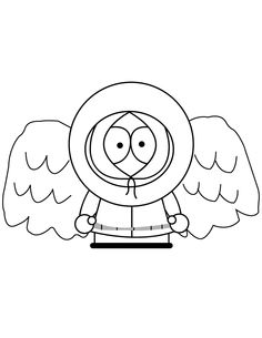 236x305 Free Printable South Park Coloring Pages Cartman Coloring