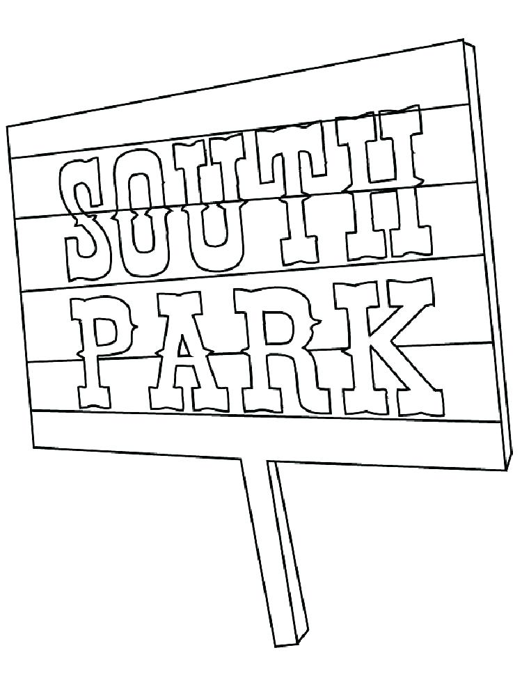 Coloring Pages South Park At Getdrawings Com Free For Personal Use