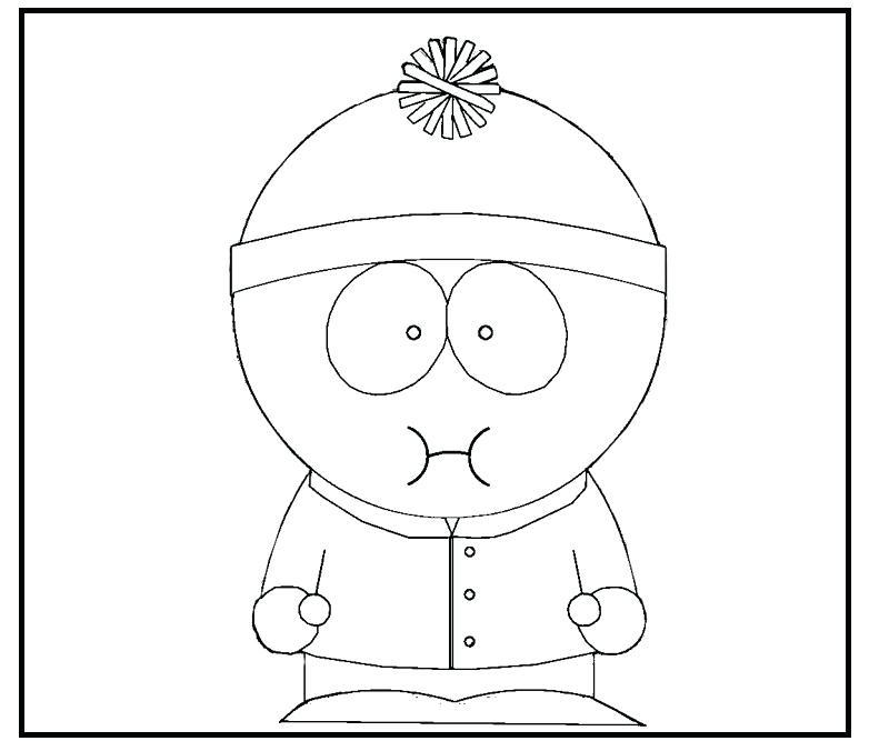 800x667 Cartman South Park Coloring Pages South Park Colouring Pages