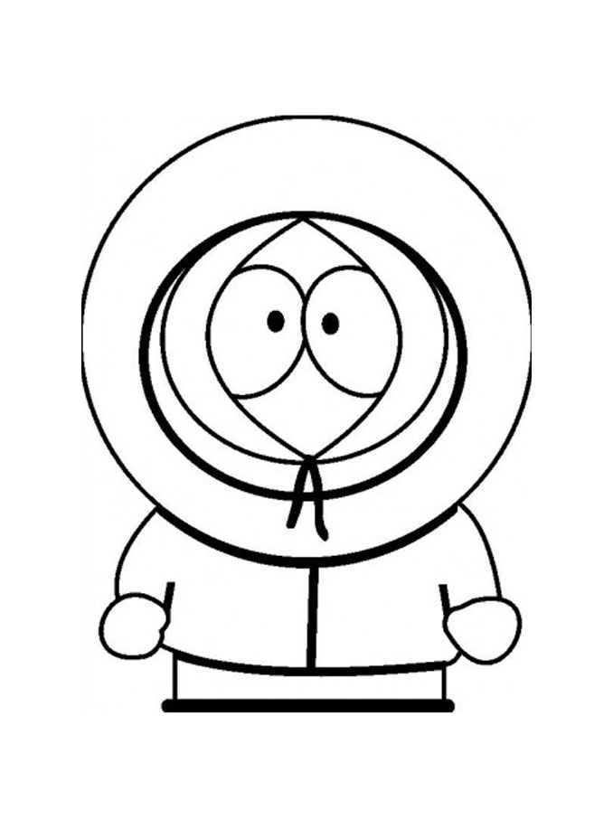 678x917 South Park Free To Color For Children
