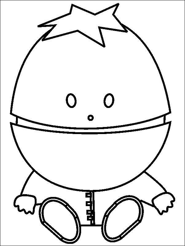 602x802 Coloring Pages South Park