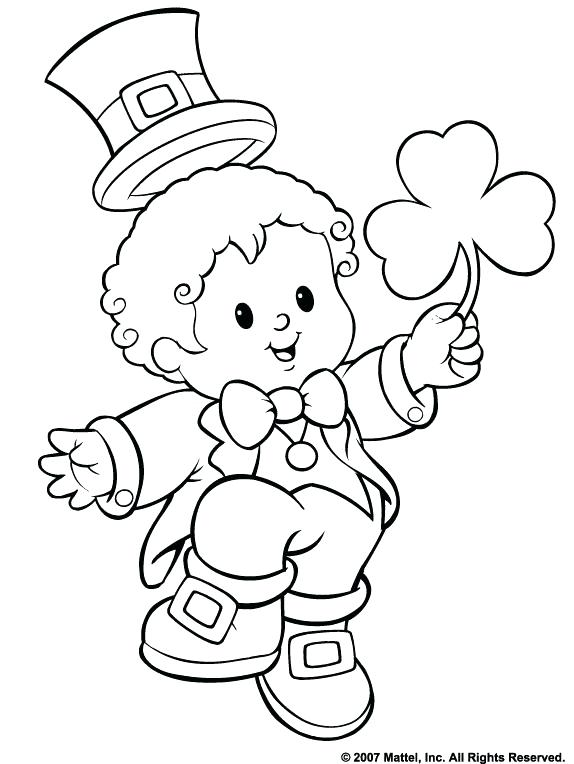 574x764 Saint Patrick Day Coloring Pages To Print Free St Day Coloring