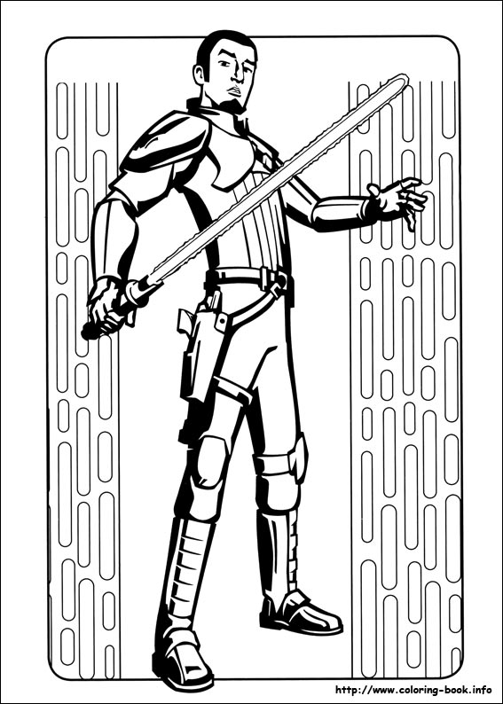 567x794 Star Wars Rebels Coloring Picture
