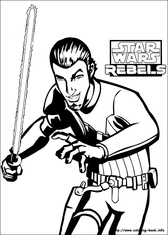 567x794 Wars Rebels Coloring Picture