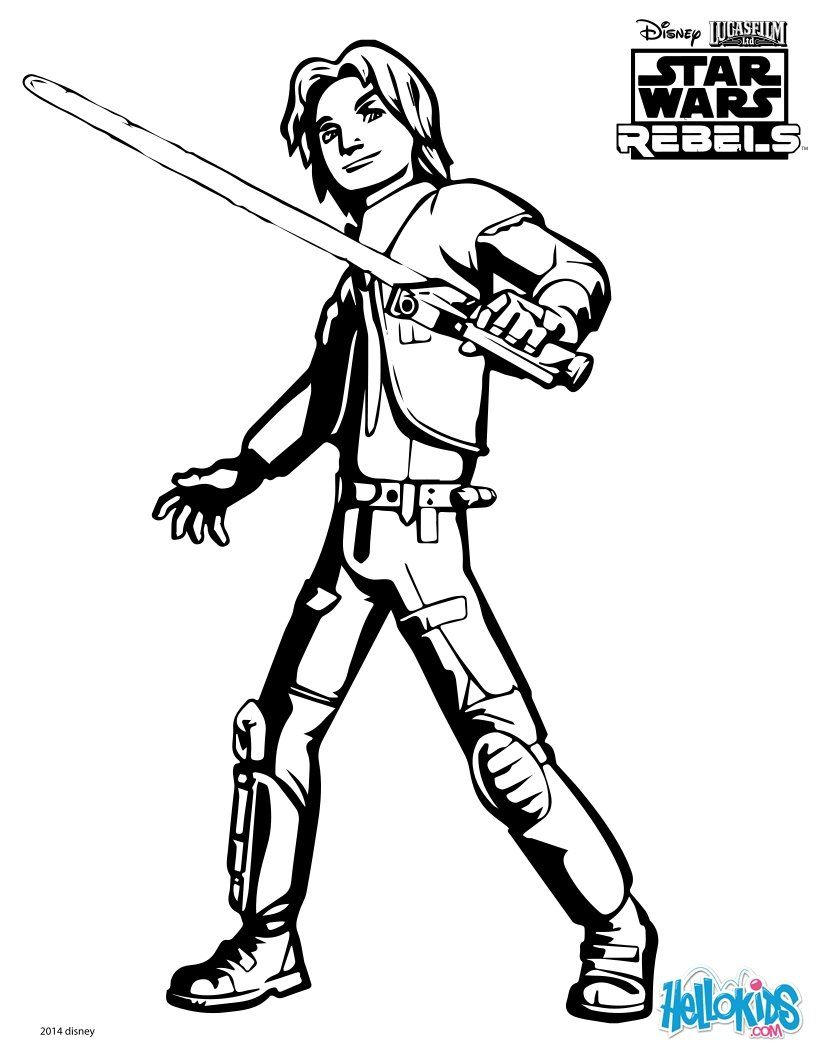 820x1060 Wars Rebels Coloring Pages