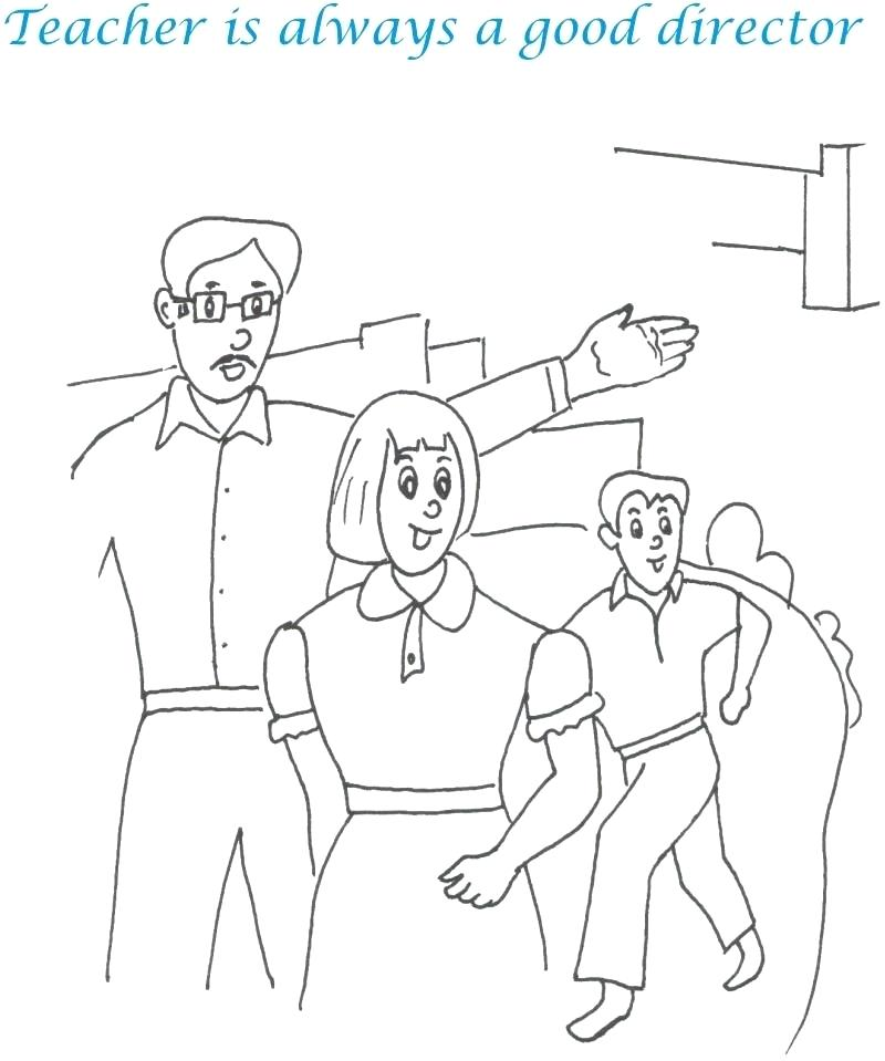 800x959 Coloring Pages For Teachers Teachers Day Coloring Pages Coloring
