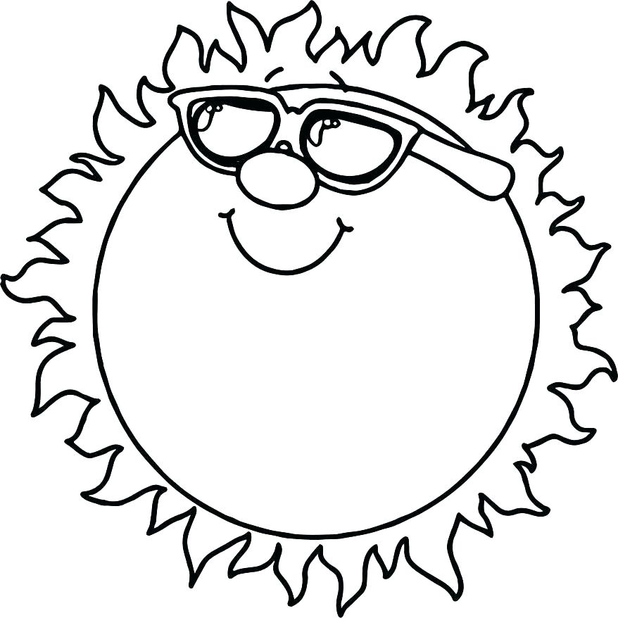 878x878 Sun Coloring Page Sun And Moon Coloring Pages The Sun Coloring