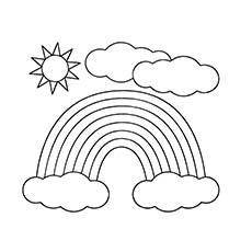 230x230 Sun Coloring Pages