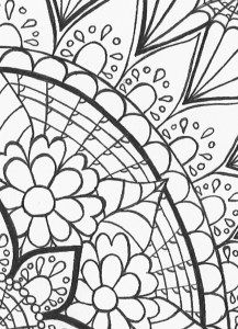 217x300 Sunflower Mini Coloring Page Studio Inkcycle Free Coloring Pages