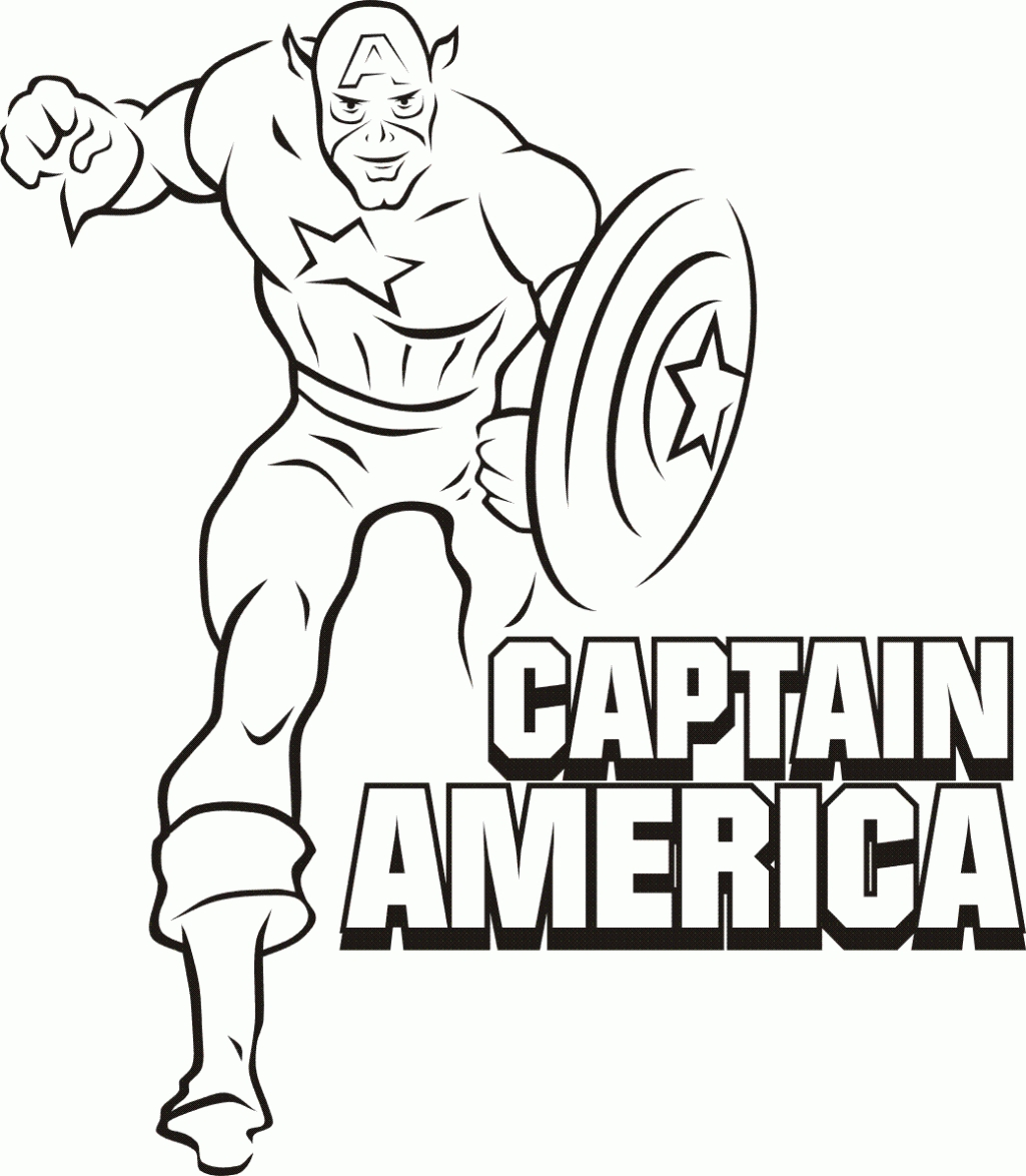 Coloring Pages Superheroes Printables at GetDrawings.com   Free for ...