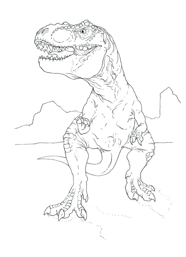 744x1024 Trex Coloring Page T Free T Coloring Pages T Rex Coloring Pages