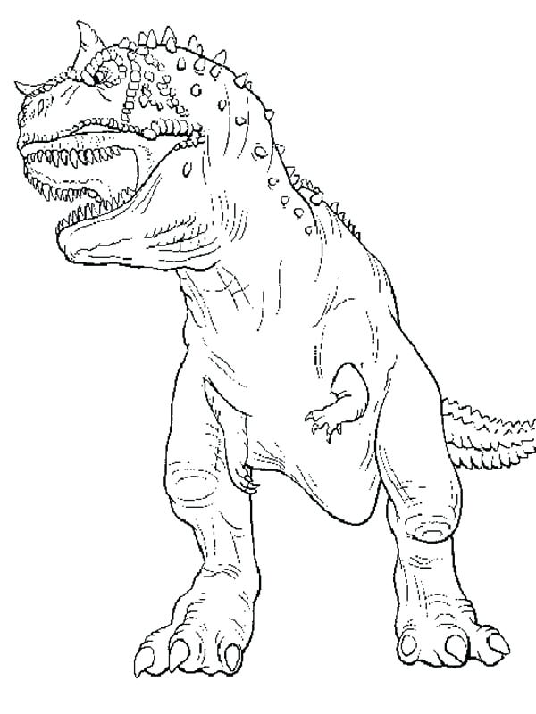 600x800 Trex Coloring Pages The Legendary T Coloring Page T Rex Coloring