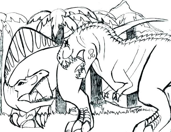 600x464 Coloring Pages Trex Page T Vs V