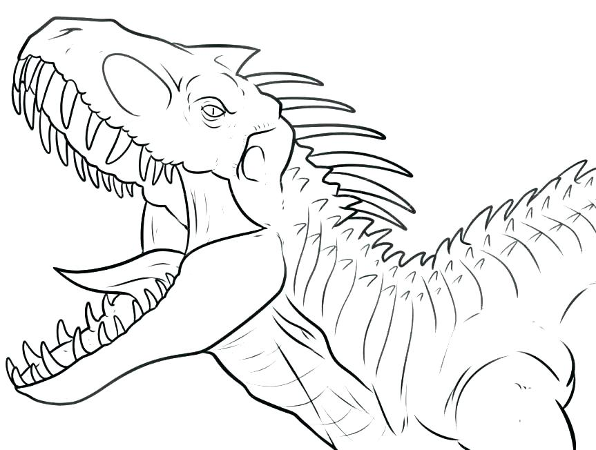 863x652 Dinosaur Coloring Page Dinosaurs Color Pages T Coloring Page