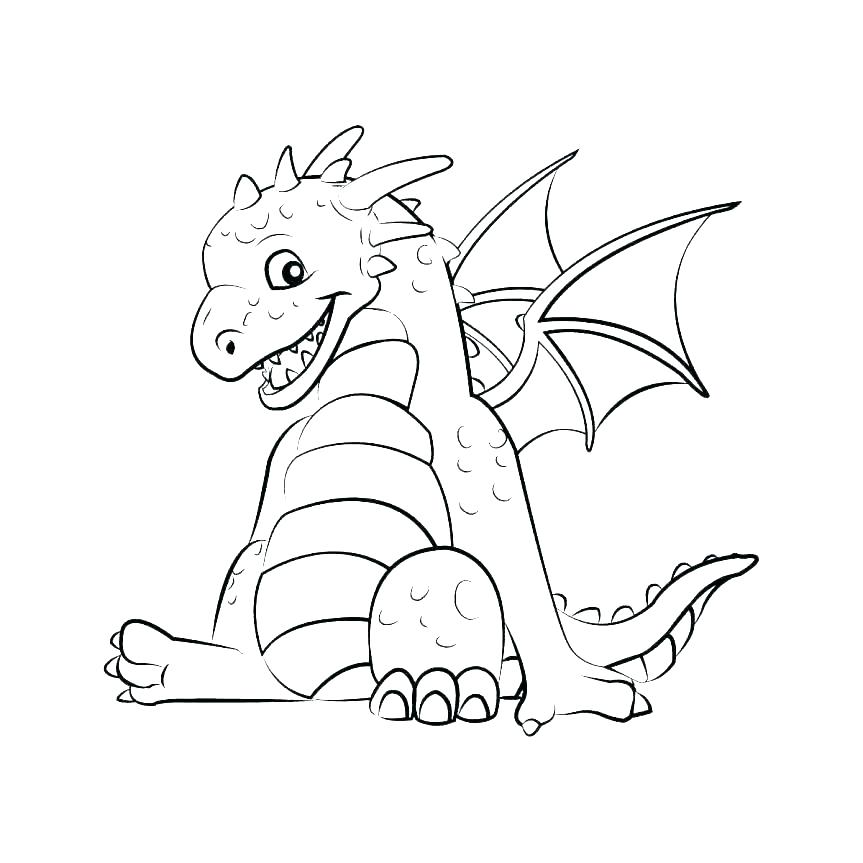863x863 Baby Dragon Coloring Pages Cute Dragon Coloring Pages Baby Dragon