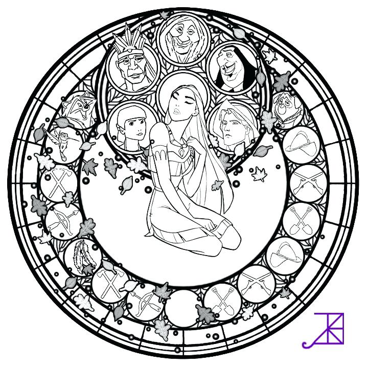 720x720 Stained Glass Coloring Page Printable Stained Glass Coloring Pages
