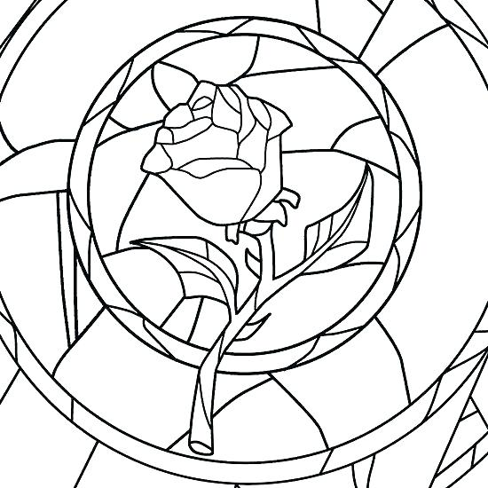 550x550 Stained Glass Coloring Pages Stained Glass Window Coloring Pages
