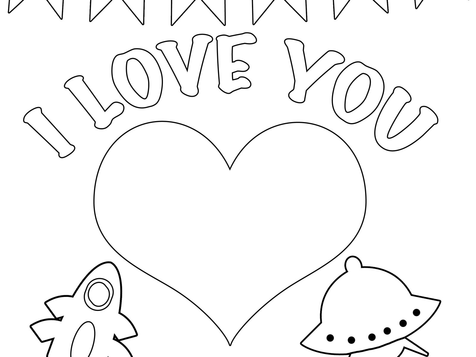 1600x1200 I Love You Coloring Pages Daddy Colouring Free Mom And Dad