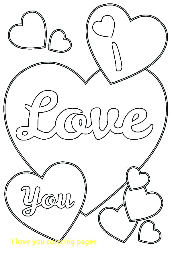 600x900 I Love You Coloring Pages Printable Coloring Pages That Say I Love