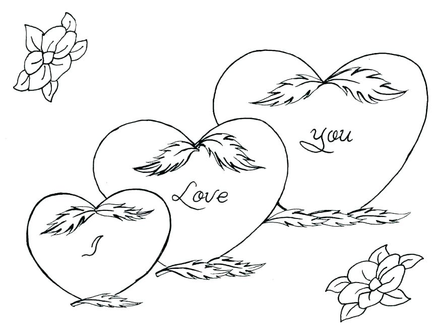 863x660 Love You Coloring Pages Love Color Pages Love You Coloring Pages