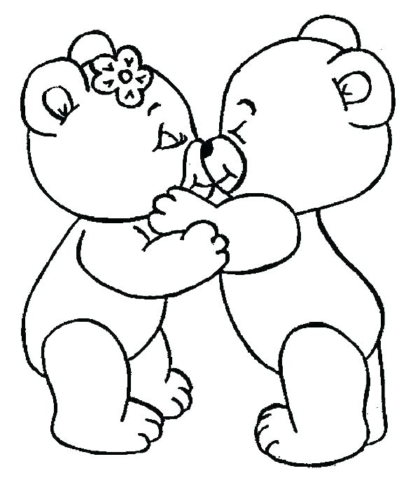 600x686 I Love You Coloring Pages To Print