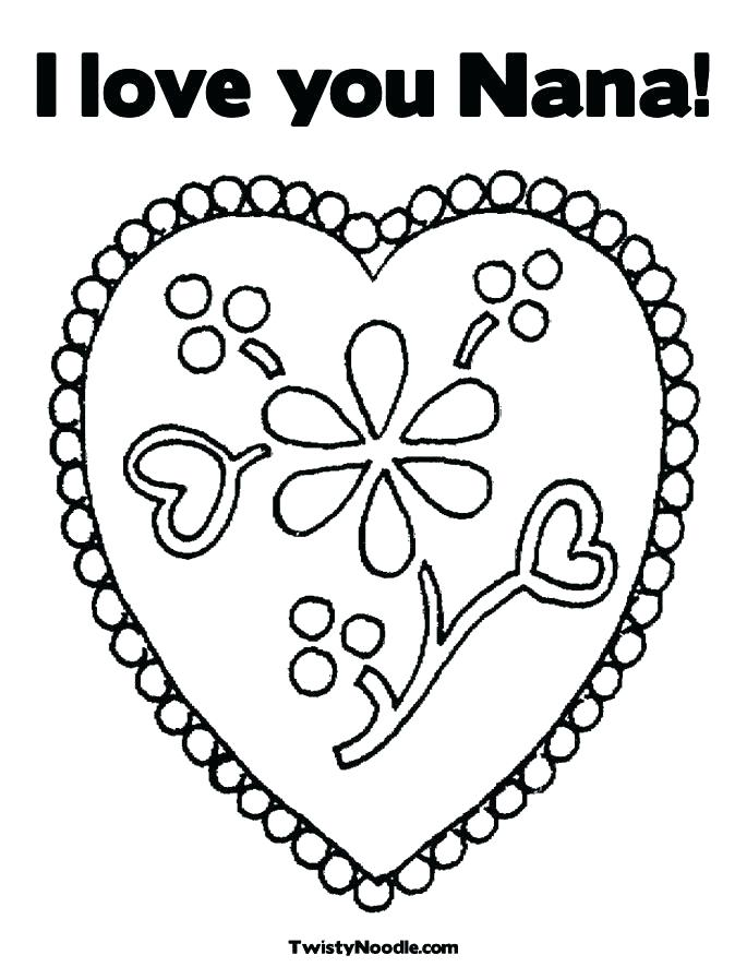 685x886 Coloring Pages That Say I Love You I Love You Coloring Pages