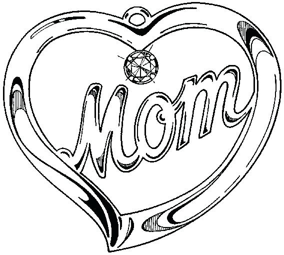 568x510 Coloring Pages That Say I Love You Say I Love You Mom Coloring