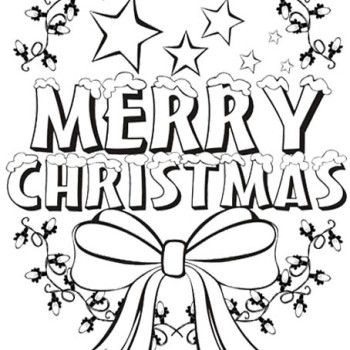 350x350 Coloring Pages That Say Merry Christmas Disney Merry Christmas