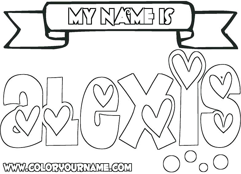 784x565 Name Coloring Pages Luxury Graffiti Coloring Pages Names Kids Name