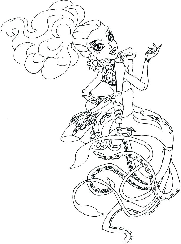 615x829 Monster High Coloring Pages That You Can Print Deepart