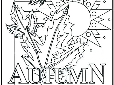 440x330 Fall Coloring Pages Free Free Fall Printable Coloring Pages