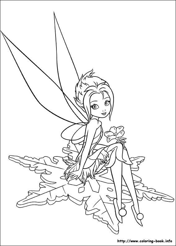 567x794 Secret Of The Wings Periwinkle Fairy Coloring Pages Fairys