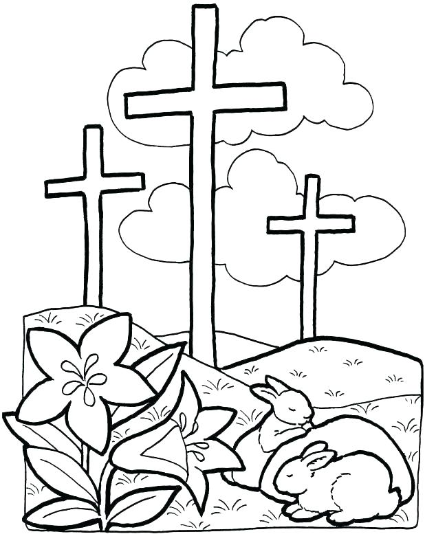 618x777 Cross Coloring Pictures On The Cross Coloring Pages Cross Coloring