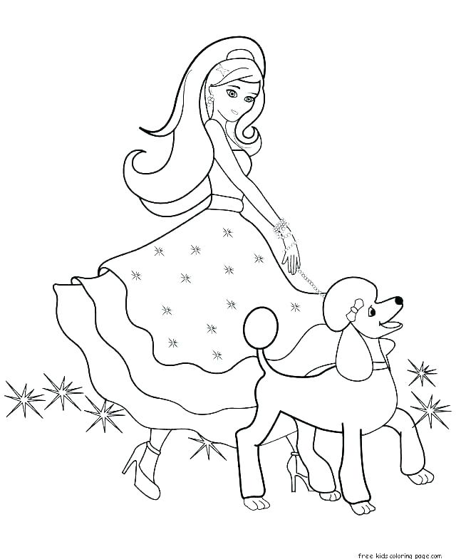 640x785 Free Coloring Pages Barbie Free Barbie Coloring Pages Barbie Color