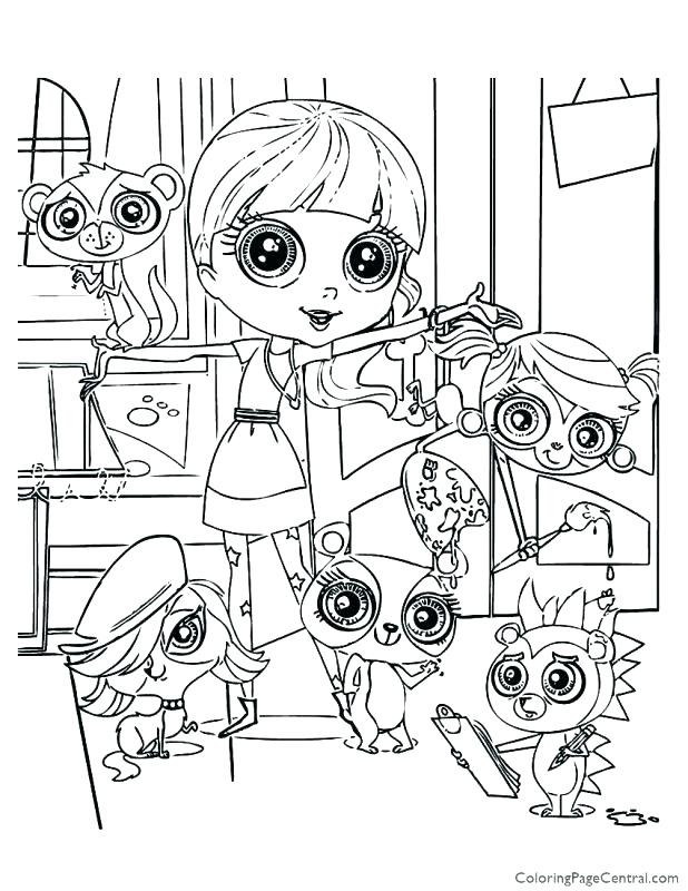 618x800 Littlest Pet Shop Coloring Pages Littlest Pet Shop Coloring Pages