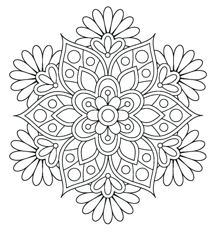 736x817 Online Mandala Coloring Pages Mandala Coloring Sheets Together