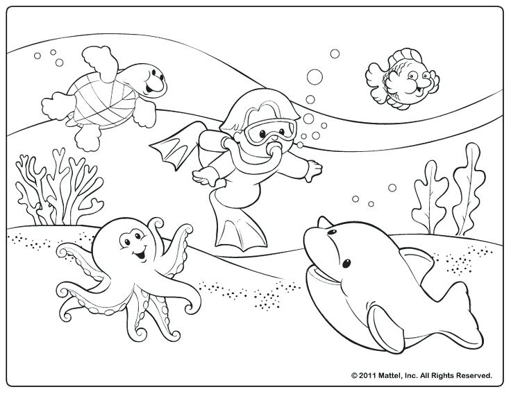 736x568 Printable Pages For Coloring