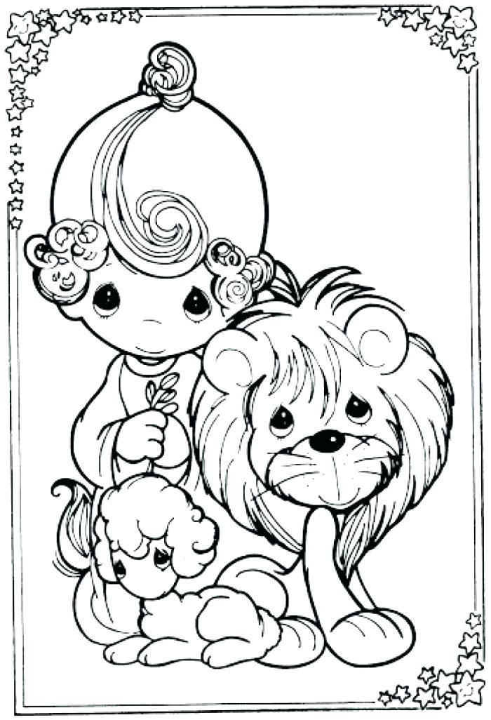 700x1026 Coloring Pages Draw A Lion Lion Coloring Pages Lion Lamb Coloring