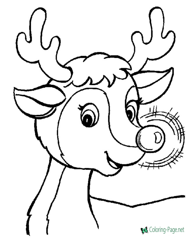 670x820 Christmas Coloring Pages