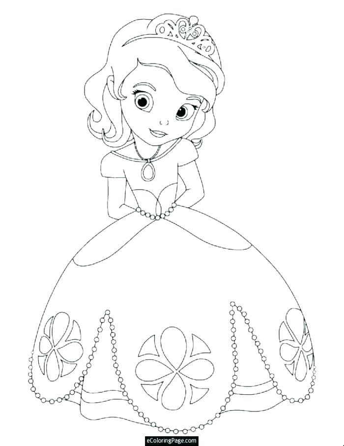 700x906 Princess Coloring Pages Printables