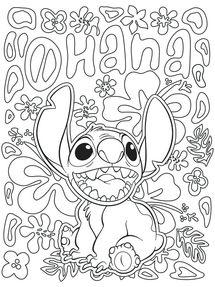 736x981 Disney Color Pages