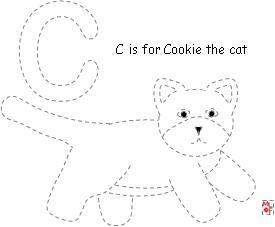 275x227 C Is For Cookie's Week Worksheets School Alphabet Week Letter C