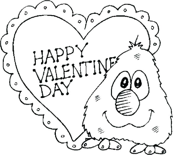 Coloring Pages Valentines Day Cards at GetDrawings.com | Free for ...