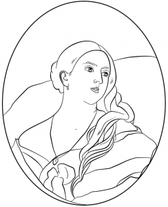 244x300 Photos Of Victorian Era Coloring Pages