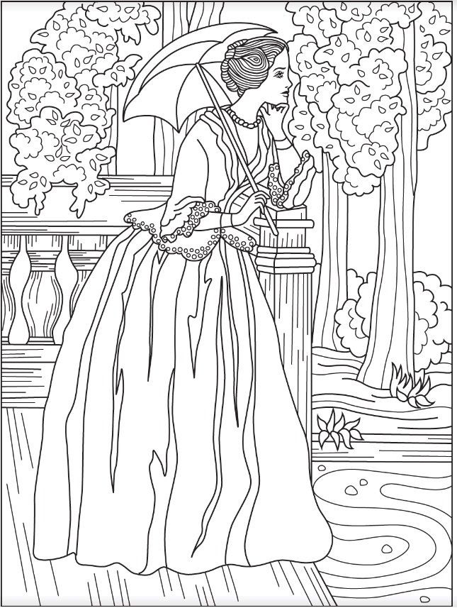 645x857 Victorian Coloring Pages Lovely Best Fashion Coloring Pages