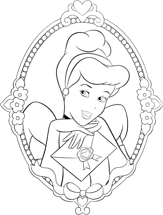 550x725 Disney Cinderella Coloring Pages Coloring Pages Princess Coloring