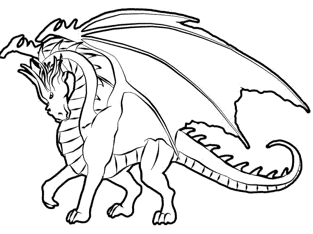 1000x749 Color The Dragon Coloring Pages In Websites