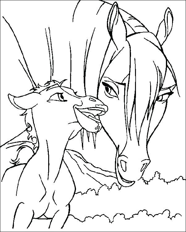 Coloring Pages Wild Horses At Getdrawings Com Free For Personal