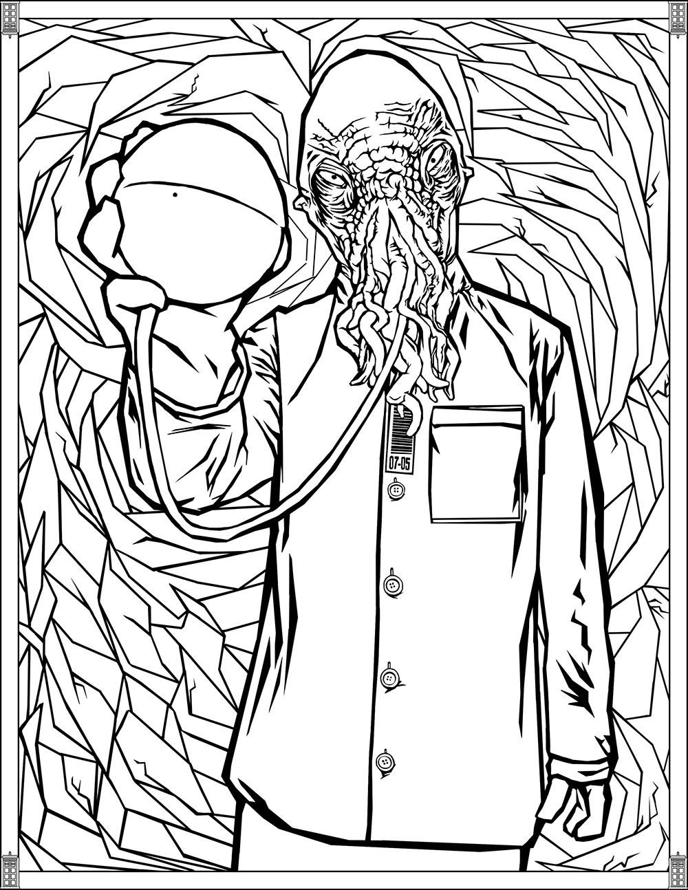 1000x1294 Doctor Who Pages Ood